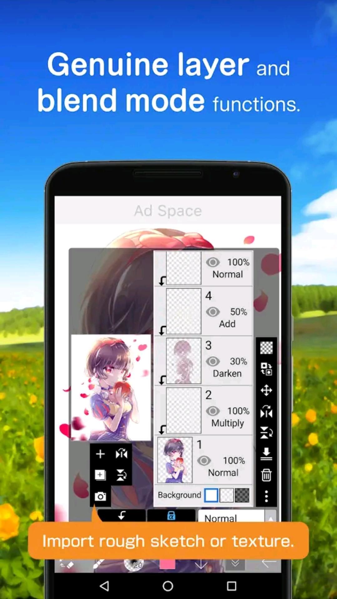 Most Popular Drawing App | ibis Paint X app