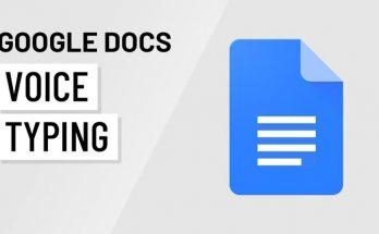Google Docs Voice Typing